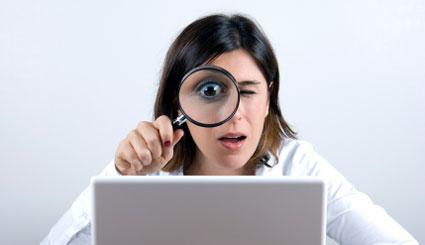 Being stalked online