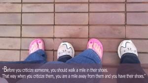 Walk a Mile..