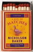 a box of matches Saturday Satire...