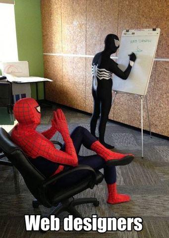 web designers Pendantic Hacker..