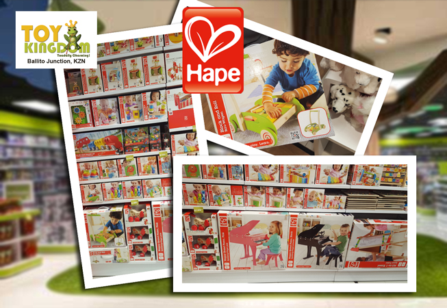 Hape Educational Toy Range at The Toy Kingdom Ballito
